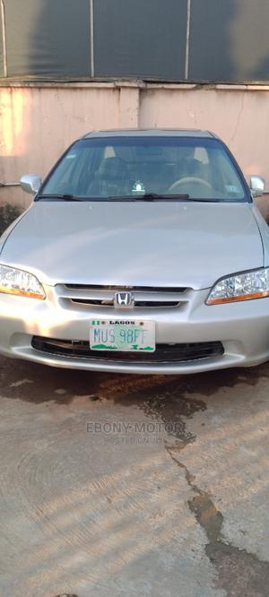 Honda Accord 1999 LX Silver   Cars for sale in Lagos State, Ifako-Ijaiye