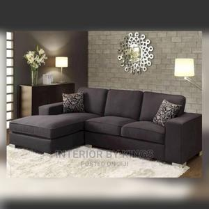 L-Shaped Fabric Sofa Made With Best Materials | Furniture for sale in Lagos State, Ogudu