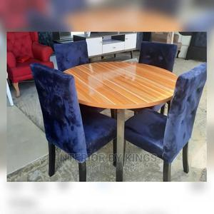 4seater Dining Set Table Made With HDF Woods   Furniture for sale in Lagos State, Lekki