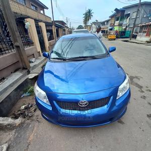 Toyota Corolla 2009 Blue   Cars for sale in Lagos State, Ilupeju