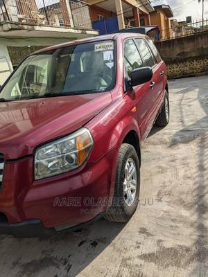 Honda Pilot 2006 EX-L 4x2 (3.5L 6cyl 5A) Red   Cars for sale in Lagos State, Surulere