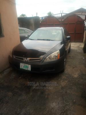 Honda Accord 2007 2.4 Black | Cars for sale in Rivers State, Port-Harcourt