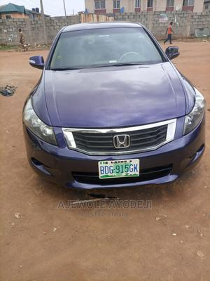 Honda Accord 2009 2.0 i-VTEC Blue | Cars for sale in Lagos State, Alimosho