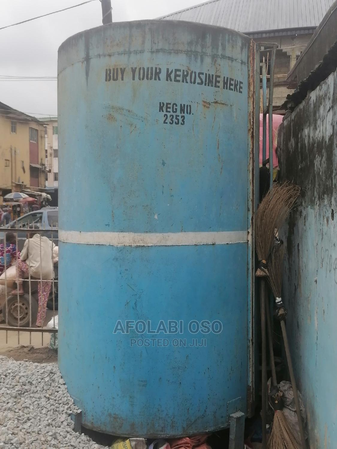 5,000 Ltrs Capacity Steel Tank   Store Equipment for sale in Mushin, Lagos State, Nigeria