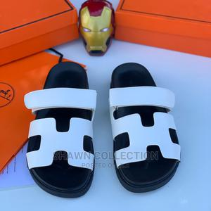 Hermes Leather Slippers | Shoes for sale in Lagos State, Lagos Island (Eko)