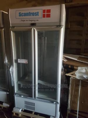Scanfrost Showcases Standing Double Door 100%Copper Coil | Store Equipment for sale in Lagos State, Amuwo-Odofin