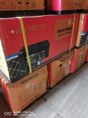 12V 200ah AGM Deka Power America Standard.   Solar Energy for sale in Lagos State, Ojo