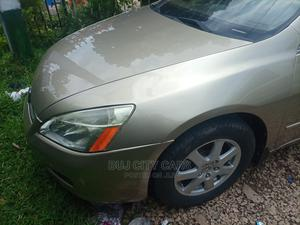 Honda Accord 2005 Sedan LX V6 Automatic Gold   Cars for sale in Abuja (FCT) State, Mabushi