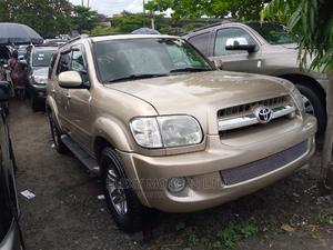 Toyota Sequoia 2007 Gold | Cars for sale in Lagos State, Apapa
