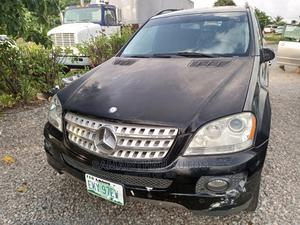 Mercedes-Benz M Class 2008 ML 350 4Matic Black | Cars for sale in Abuja (FCT) State, Kubwa
