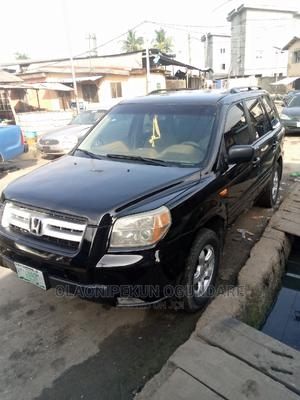 Honda Pilot 2007 EX 4x4 (3.5L 6cyl 5A) Black | Cars for sale in Lagos State, Surulere