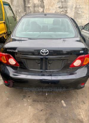 Toyota Corolla 2009 Black   Cars for sale in Lagos State, Ibeju
