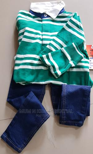 Green Polo | Children's Clothing for sale in Lagos State, Isolo