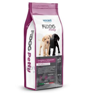 Vincent Fidog Petty Dry Food for Puppies (20KG) | Pet's Accessories for sale in Lagos State, Lekki