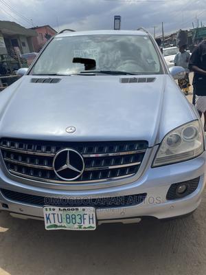 Mercedes-Benz M Class 2007 ML 350 4Matic Blue | Cars for sale in Lagos State, Agboyi/Ketu