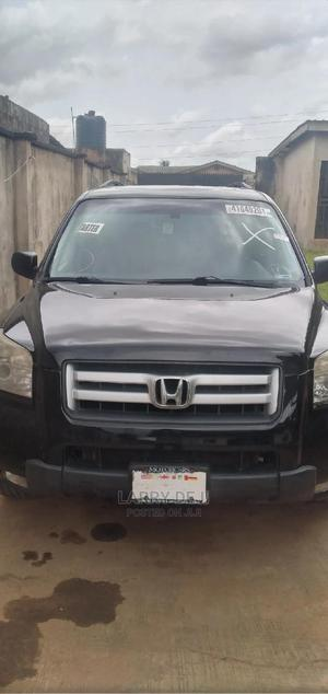 Honda Pilot 2007 EX 4x2 (3.5L 6cyl 5A) Black   Cars for sale in Lagos State, Alimosho
