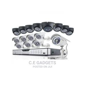 Cctv 16 Channel DVR, 1080P AHD 8 Indoor + 8 Outdoor Camera | Security & Surveillance for sale in Lagos State, Ojo