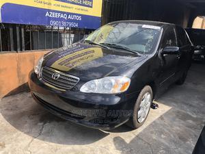 Toyota Corolla 2003 Sedan Automatic Black | Cars for sale in Lagos State, Surulere