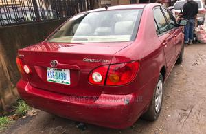 Toyota Corolla 2007 Red | Cars for sale in Lagos State, Ikeja