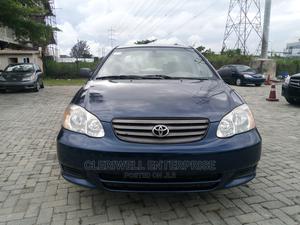 Toyota Corolla 2003 Sedan Automatic Blue | Cars for sale in Lagos State, Lekki