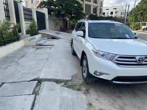 Toyota Highlander 2013 White | Cars for sale in Lagos State, Lekki