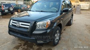 Honda Pilot 2007 EX-L 4x4 (3.5L 6cyl 5A) Black   Cars for sale in Lagos State, Ojodu