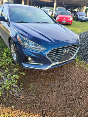 Hyundai Sonata 2018 Limited Blue   Cars for sale in Abuja (FCT) State, Wuse 2