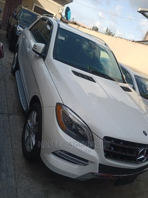Mercedes-Benz M Class 2015 White   Cars for sale in Lagos State, Surulere
