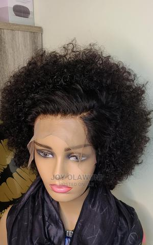 Short Curly Frontal Wig | Hair Beauty for sale in Lagos State, Ojodu
