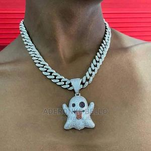 Cuban Silver Chain   Jewelry for sale in Lagos State, Ikeja