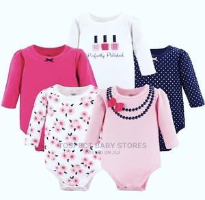 Baby Girl 5 Pcs Body Suit   Children's Clothing for sale in Ekiti State, Ado Ekiti