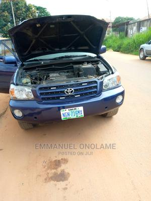 Toyota Highlander 2004 Base FWD Blue | Cars for sale in Anambra State, Awka