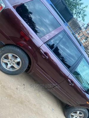 Honda Pilot 2007 EX 4x4 (3.5L 6cyl 5A) Red | Cars for sale in Lagos State, Ikotun/Igando
