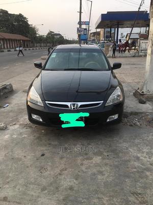Honda Accord 2007 2.4 Black | Cars for sale in Lagos State, Yaba