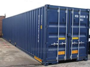 40ft Blue Empty Storage Container | Manufacturing Equipment for sale in Sokoto State, Binji