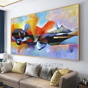 Large Lord Buddha Abstract Paintings on Canvas | Arts & Crafts for sale in Lagos State, Victoria Island