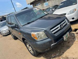 Honda Pilot 2007 EX 4x4 (3.5L 6cyl 5A) Gray | Cars for sale in Lagos State, Ikeja