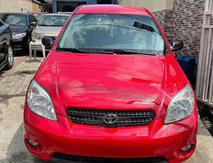 Toyota Matrix 2004 Red   Cars for sale in Lagos State, Surulere