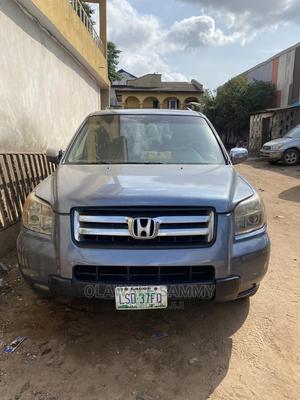 Honda Pilot 2007 Blue | Cars for sale in Lagos State, Ifako-Ijaiye