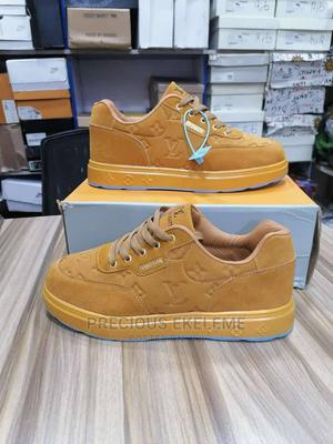 Suede and Leather LV Sneakers | Shoes for sale in Lagos State, Ojo