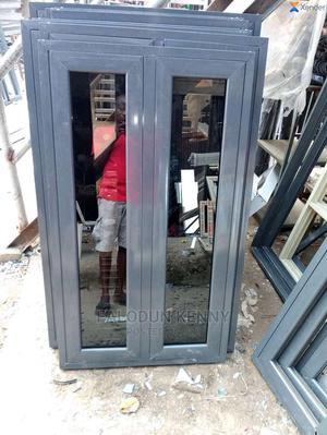 Casement Window With Burglary 12mm Rod With Net | Windows for sale in Lagos State, Ikeja