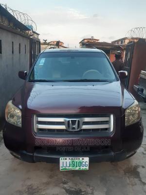 Honda Pilot 2007 Brown | Cars for sale in Lagos State, Surulere
