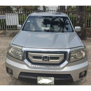 Honda Pilot 2009 Silver   Cars for sale in Lagos State, Surulere