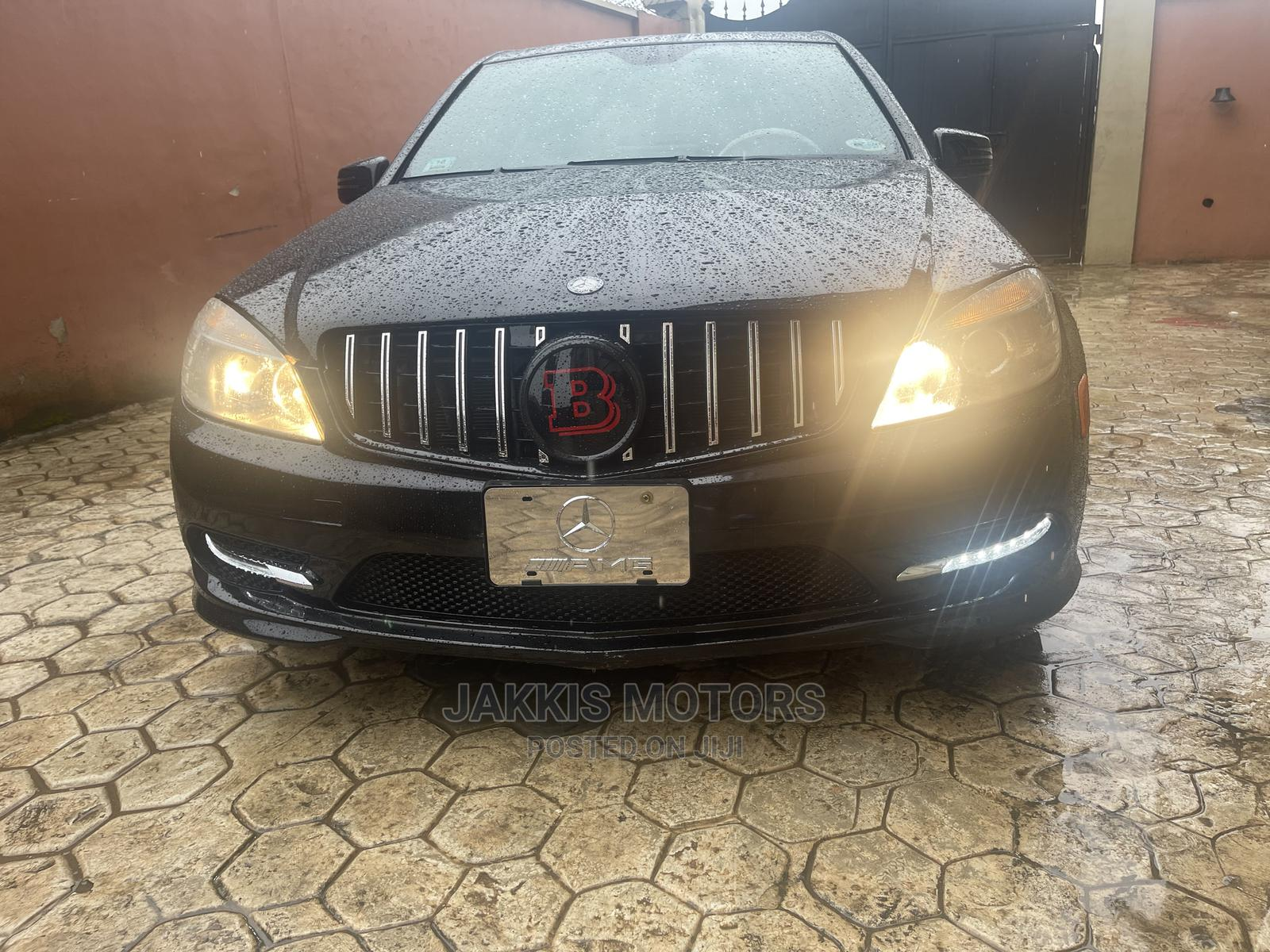 Mercedes-Benz C300 2010 Black   Cars for sale in Agege, Lagos State, Nigeria