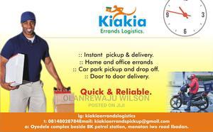 Kiakiaerrands Logistics | Logistics Services for sale in Oyo State, Ibadan