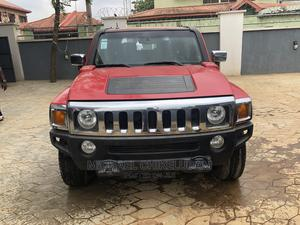 Hummer H3 2006 Red | Cars for sale in Lagos State, Ikeja