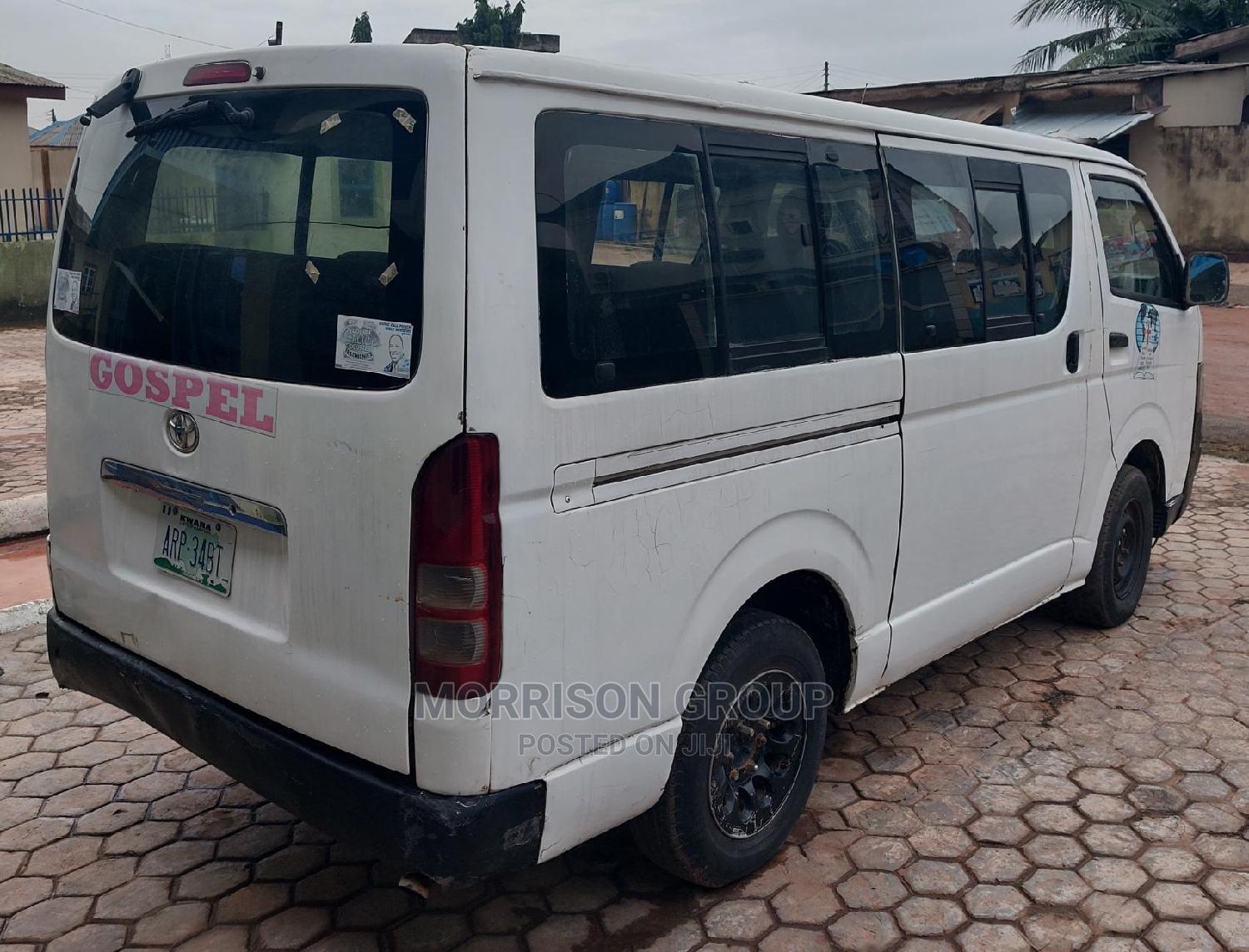 Archive: Clean Toyota Hiace 2005