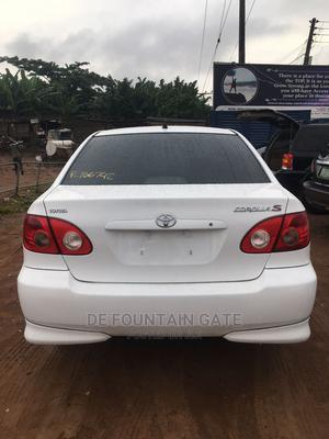 Toyota Corolla 2006 LE White | Cars for sale in Lagos State, Ogba