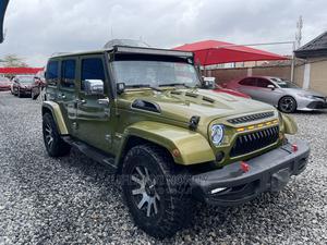 Jeep Wrangler 2009 3.8 Sahara 4x4 Gray | Cars for sale in Lagos State, Amuwo-Odofin