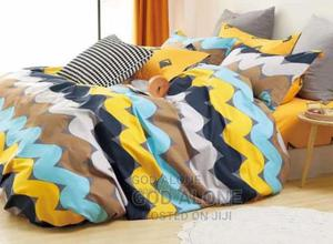 Super 100% Cotton Duvet, Bedsheet And 4 Pillow Cases | Home Accessories for sale in Lagos State, Ikeja